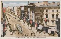 Ulica Piotrkowska na pocztówkach z okresu okupacji